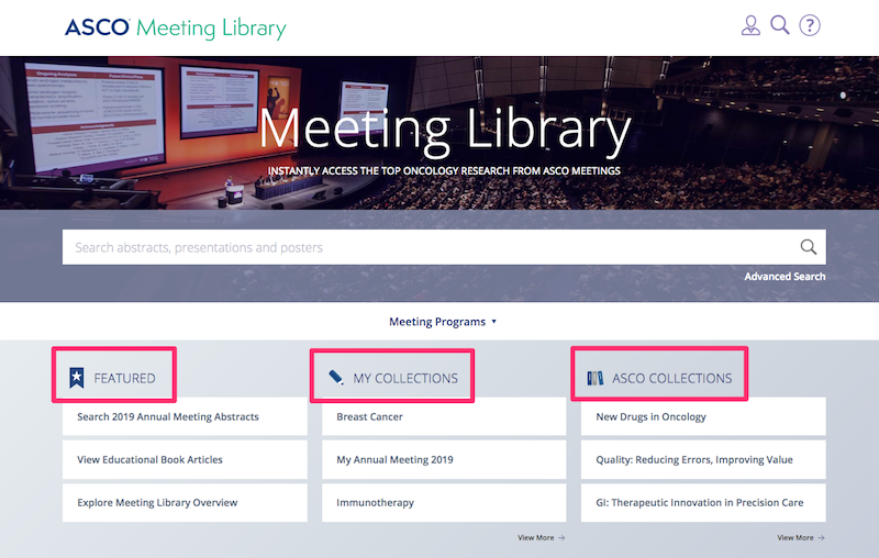 Meeting Library Home Page